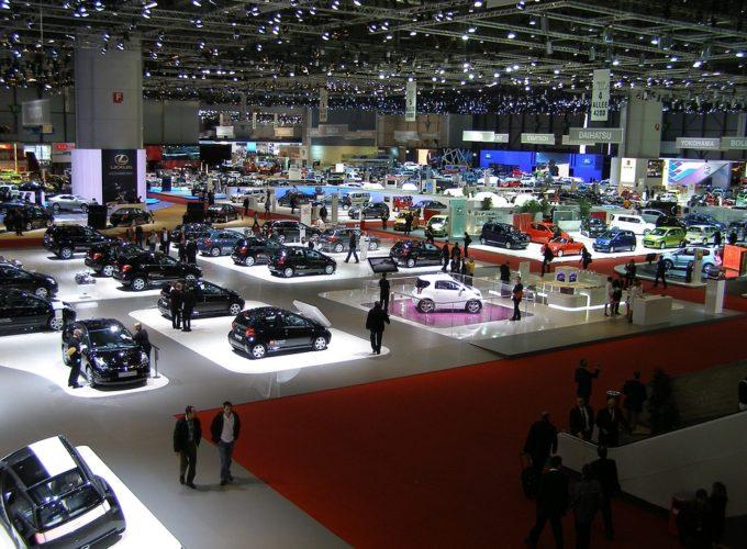 výstava automobilů